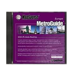 MapSource Guide Urbain Europe