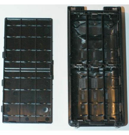 Boîtier piles 6xAA pour IC-A6FR et IC-A24FR