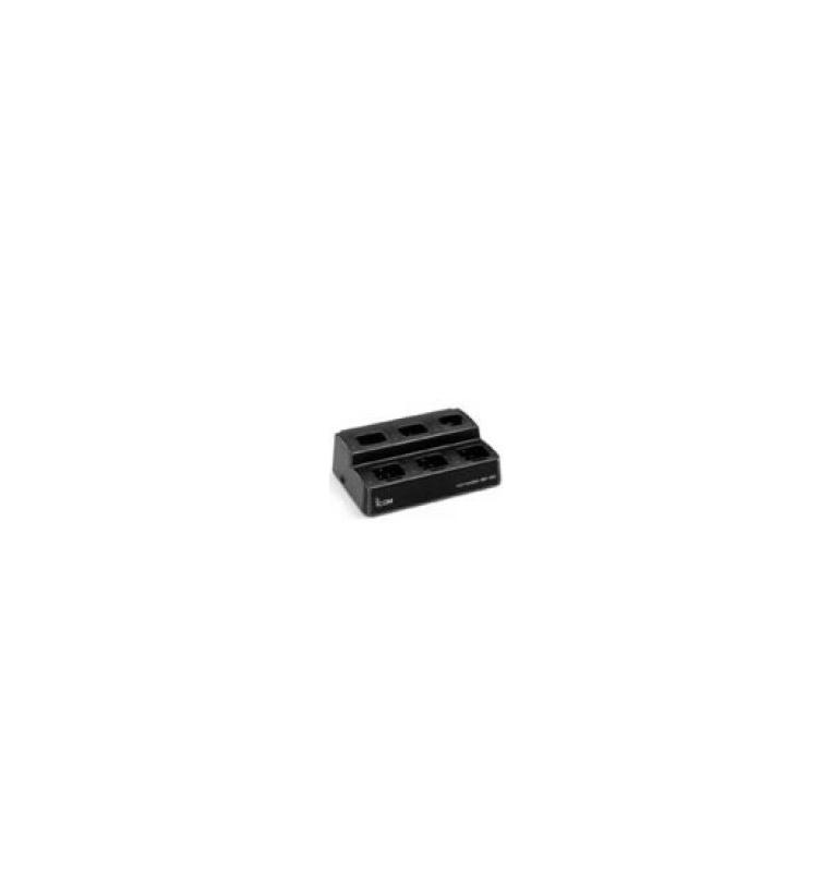 Pack chargeur rapide pour 6 batteries Li-Ion pour IC-A6FR et IC-A24FR