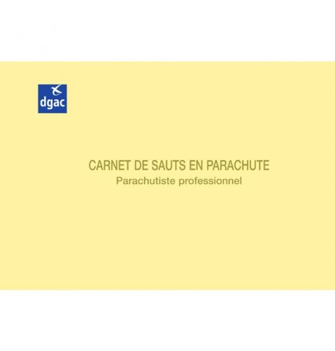 Carnet de sauts en parachute