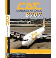DVD Challenge Air Cargo Boeing 707