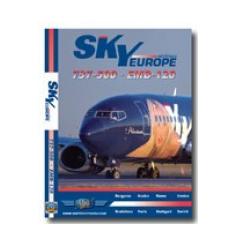 DVD SkyEurope Boeing 737-500 Embraer 120