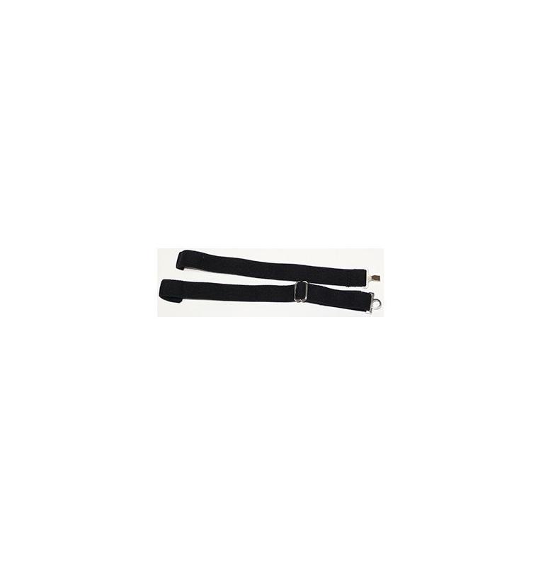 Elastique 4600 noir 15 mm