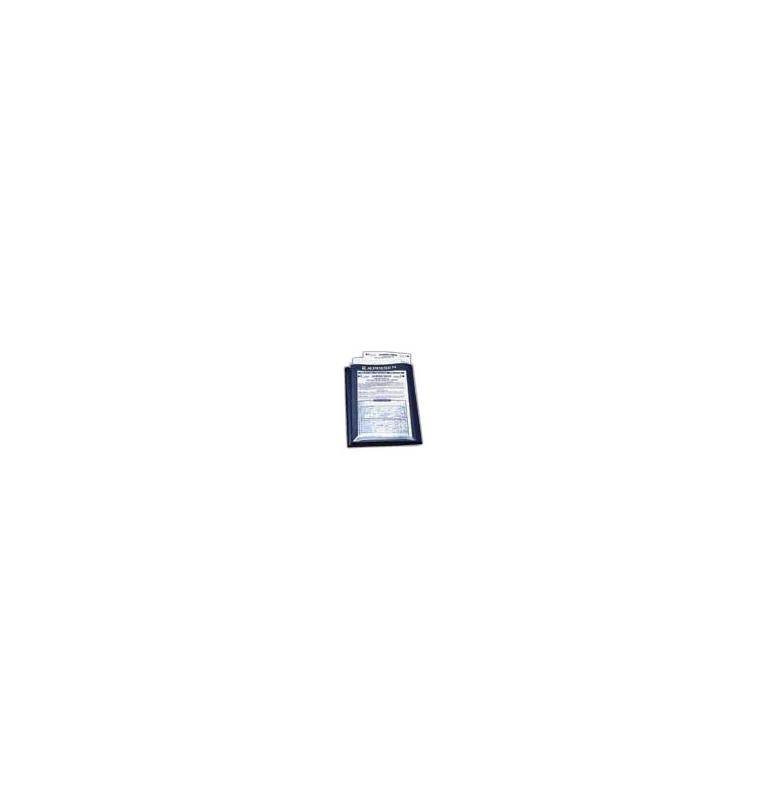 Chart Wallet pour 10 cartes/logs de nav