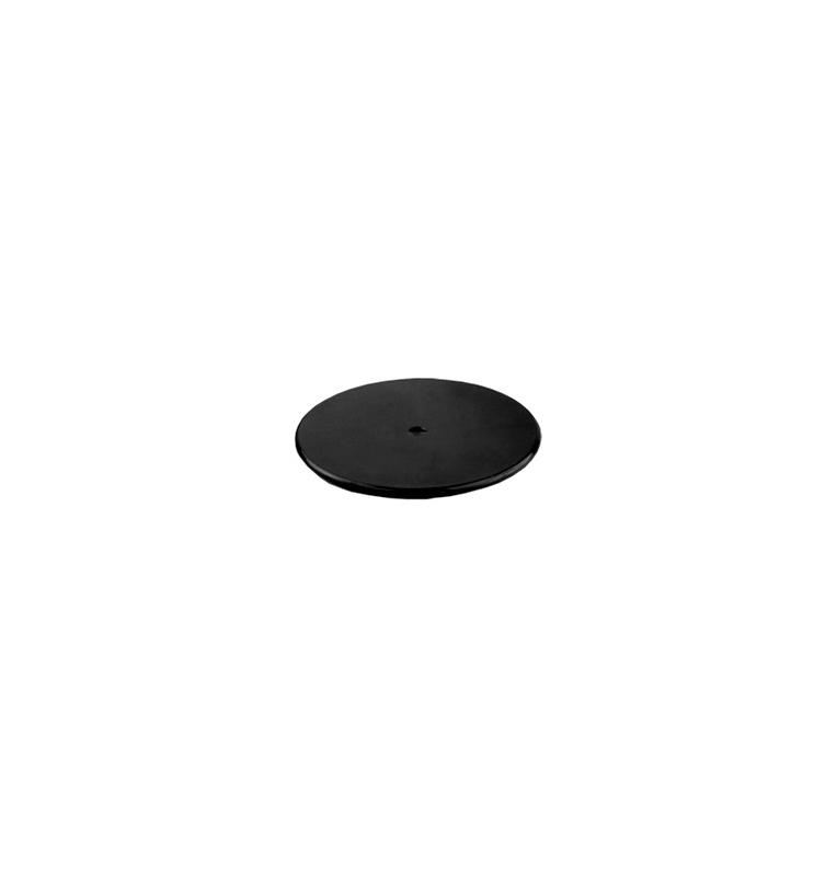 Base adhésive noire pour ventouse