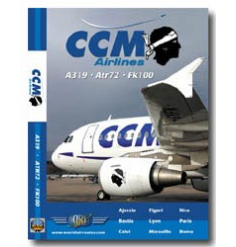 DVD CCM Airlines Airbus 319 / ATR 72 / Fokker 100