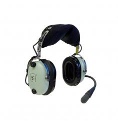 Casque David Clark H10-13 XL : double jacks aviation - actif ENC technology - câble torsadé