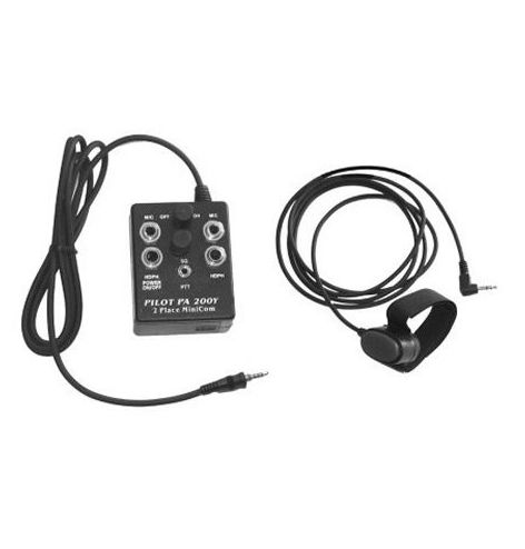 Pilot Communications Intercom 2 casques PA200Y