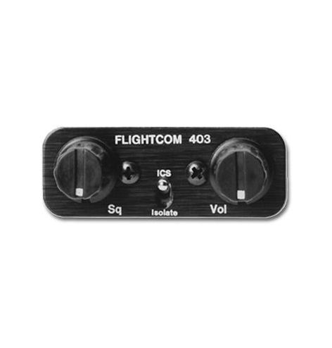 Flightcom Intercom 403 LSA 2 places