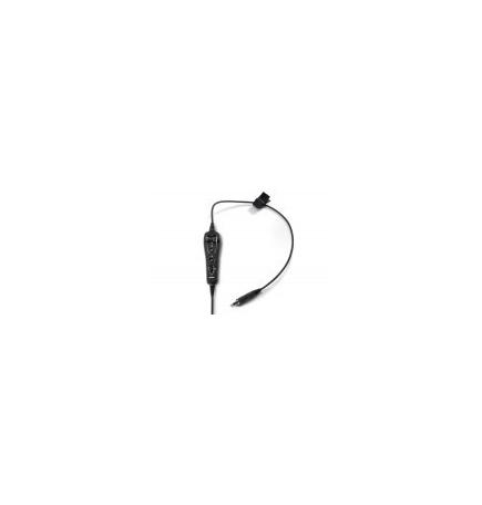 Câble de rechange pour Bose A20 - U/174  - câble droit - boitier de piles
