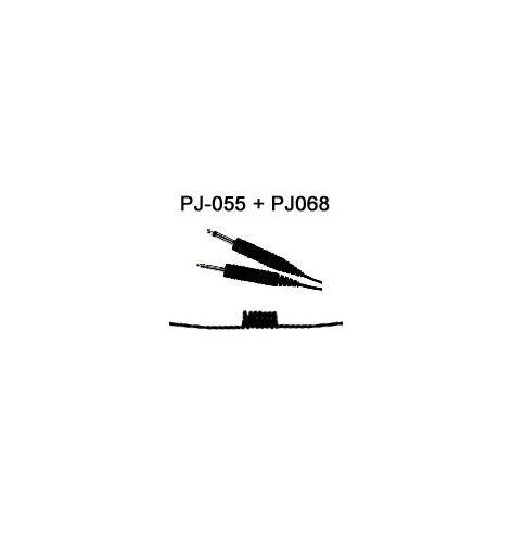 Cordon spiralé PJ055+PJ068 pour H10-60