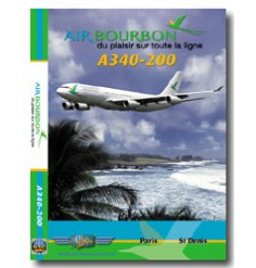 DVD Air Bourbon Airbus A340-200