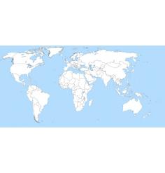 Carte Monde (Jeppesen + terrestre) + villes Amérique du nord