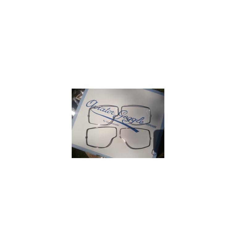 Cercles enjoliveurs pour lunettes 4182