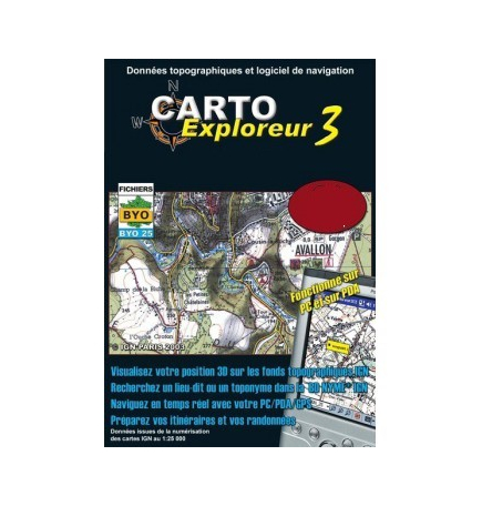 CartoExploreur 3 1:25 000