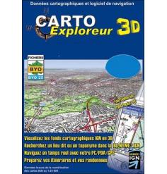 CartoExploreur 3D 1:25 000