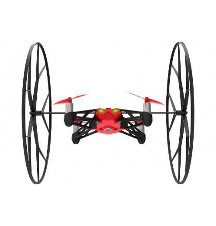 MiniDrone Rolling Spider-Version rouge