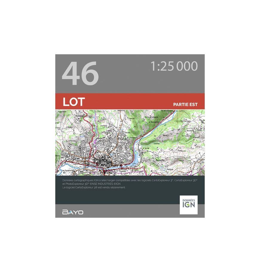 Téléchargement CartoExploreur 1:25 000