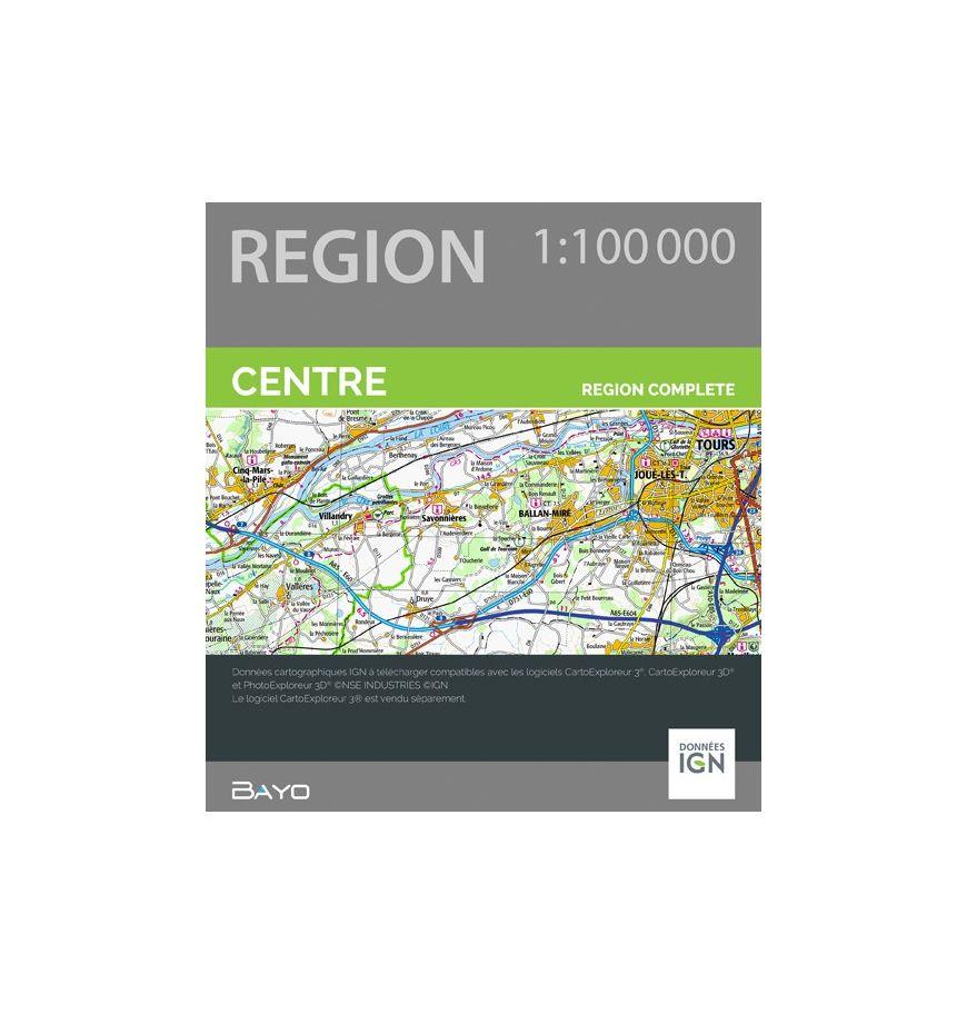 Téléchargement CartoExploreur 1:100 000