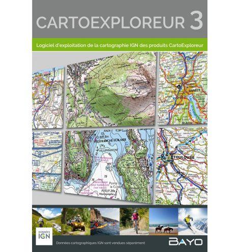 Logiciel CartoExploreur 3