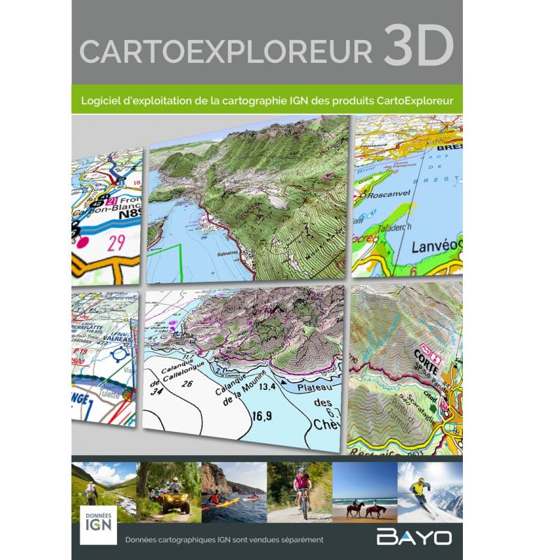 cartoexploreur 3d gratuit