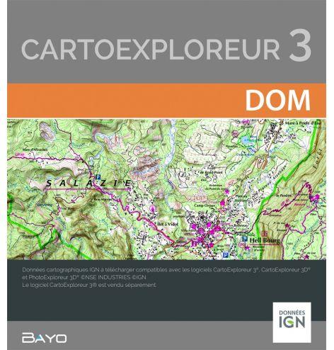 Téléchargement CartoExploreur DOM