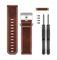 Garmin Bracelet cuir marron D2 Bravo