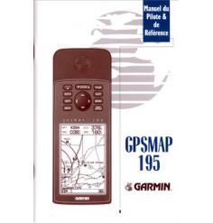Manuel GPSMAP 195 Français