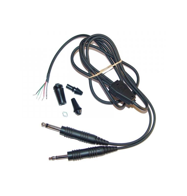 Cordon jack micro + écouteurs pour H10-13.4 H10-13Y H10-20 H10-30 H20-10