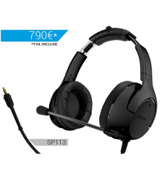 Casque avion FACTEM EF7-IA  ANR U174 avec bluetooth