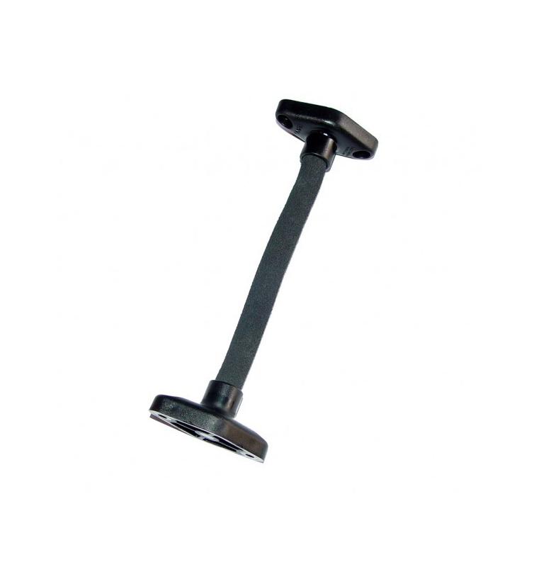 Bras flexible avec embases losange (longueur 19,5 cm)