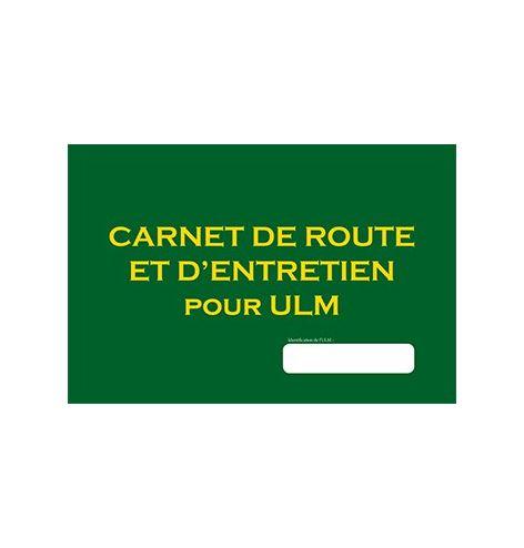 Carnet de route et entretien pour ULM