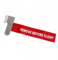 Flamme remove before flight pour pitot coudé pour pitot type DR-400