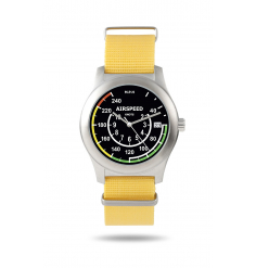 Montre Wysiwatch cadran aviation : Speed