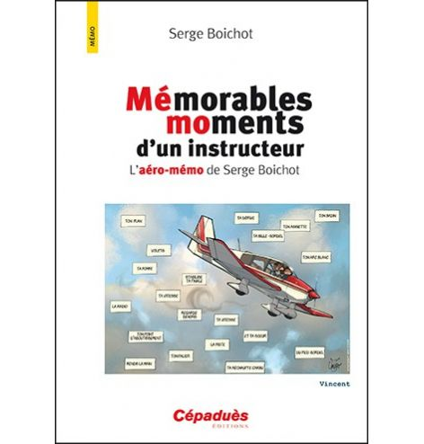 Mémorables moments d'un instructeur - éditions Cépaduès