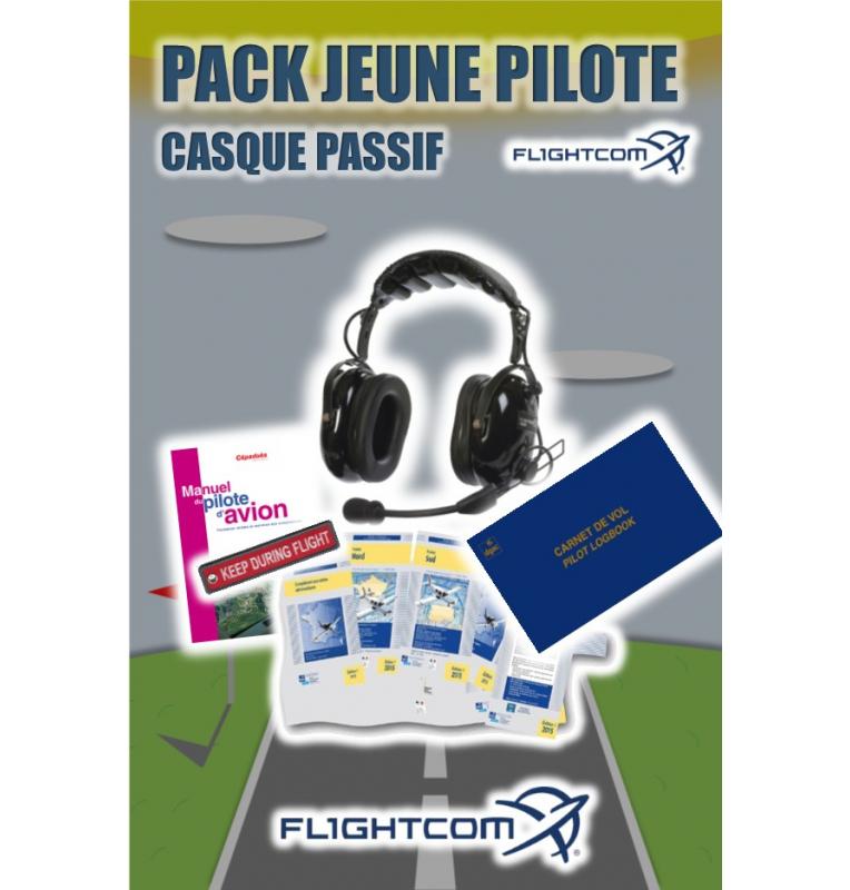 Pack Jeune Pilote Casque Passif