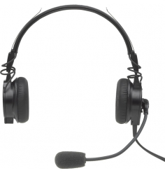 Casque Telex Airman 850 actif ANR ultra-léger double jacks aviation