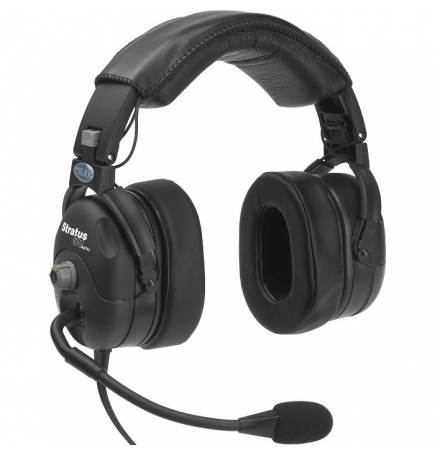 Casque Telex Stratus 50 Digital ANR double jacks aviation