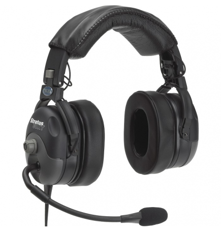 Casque Telex Stratus 30XT ANR double jacks aviation