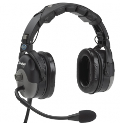 Casque Telex Stratus 30 ANR double jacks aviation