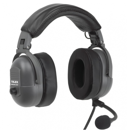 Casque Telex Echelon 25XT double jacks aviation