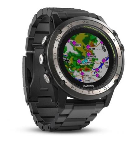 Montre GPS Garmin D2 Charlie Titanium