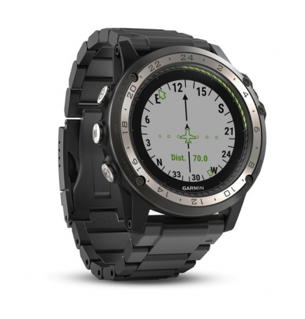 Montre GPS aviation Garmin D2 Charlie Titanium