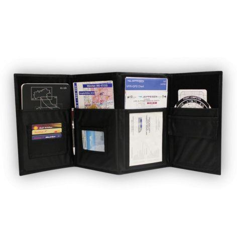 Pochette pilote pour cartes aéronautiques
