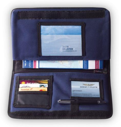 Protège carnet de vol avion (SIA bleu) ou carnet de route avion noir