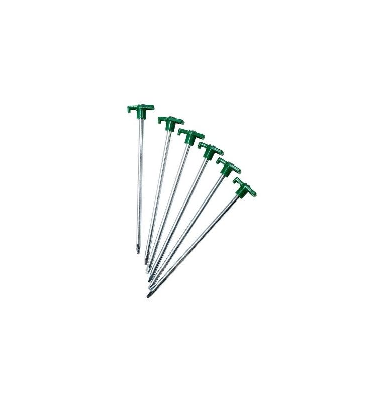 Sardines de fixation de balises tronconiques (x6)