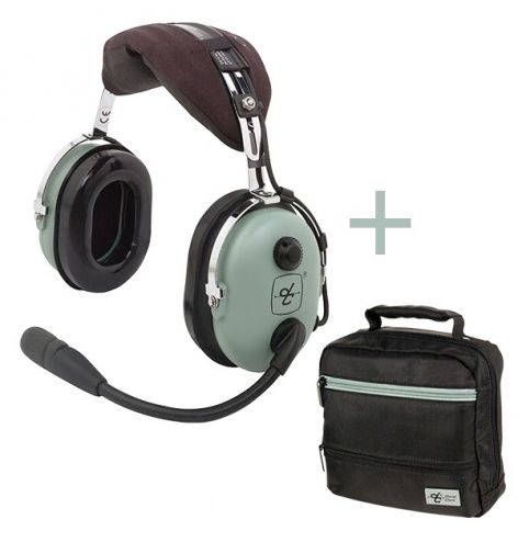 PACK : Sacoche + H10-13.4 Casque David Clark