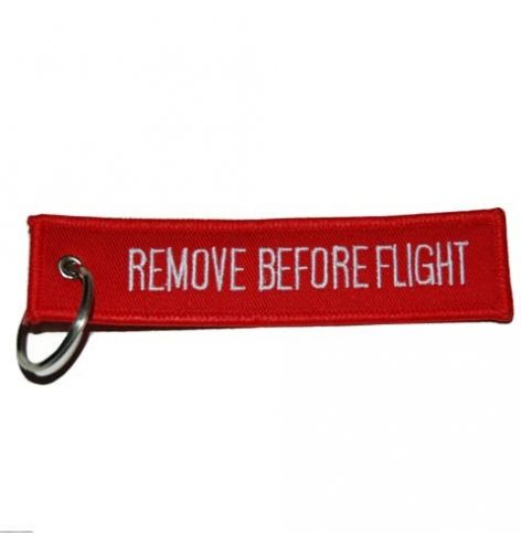 Porte-clés Remove Before...