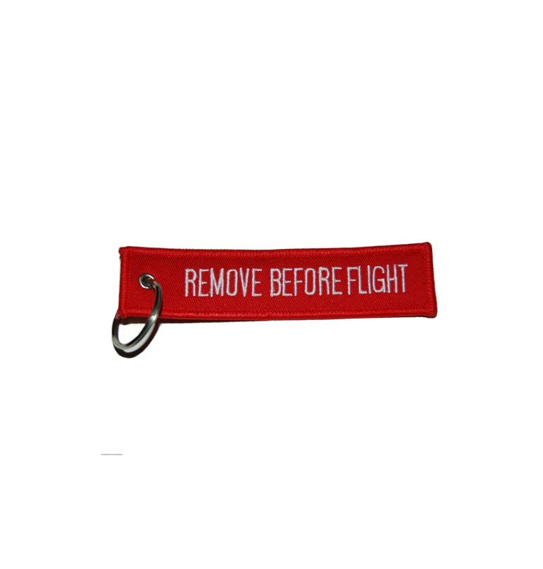 Porte-clés Remove Before Flight