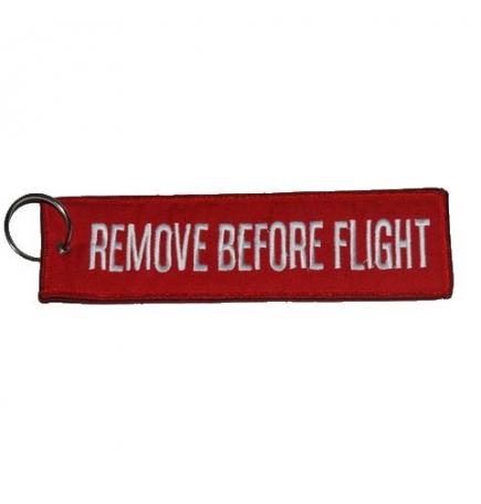 Porte-clés Remove Before Flight Large